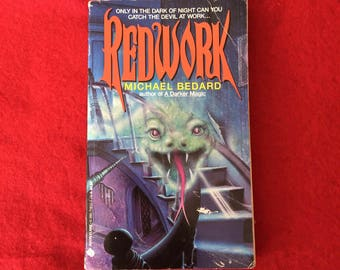 REDWORK (Young Adult Novel by Michael Bedard)