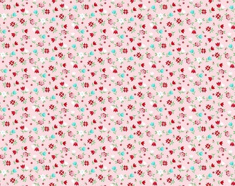 1 Yard A Little Sweetness by Tasha Noel for Riley Blake Designs- 6512  Pink Sweetness Floral