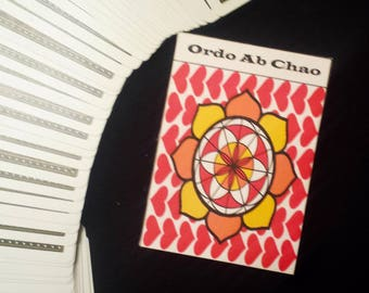 Custom Playing Card Box - Esoteric Agenda - For Magicians