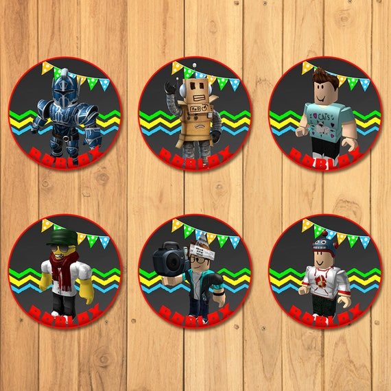 Roblox Cupcake Toppers Chalkboard * Roblox Stickers * Roblox Party Favors * Roblox Cupcake Toppers Cake Top * Roblox Birthday Party Favors