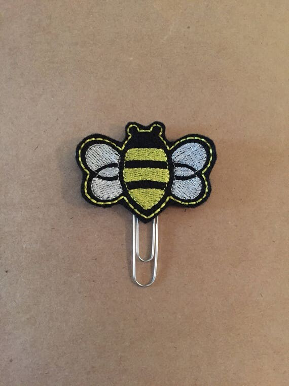 Bee Clip/Planner Clip/Bookmark.