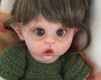 Reborn Baby Fairy / READY TO SHIP / Reborn Doll / Limited Edition Reborn / Pixie Doll / Mini Reborn / Baby Faerie / Reborn Babies Canada