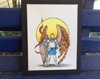 Digital Print: Archangel Michael