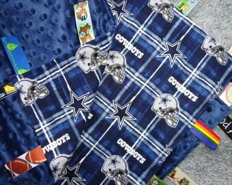 Dallas Cowboys Sensory Baby Blanket, Baby Shower Gift, I Spy Blanket, Minky Baby Blanket, Dallas Cowboys Baby, Sensory Baby Blanket, Blanket
