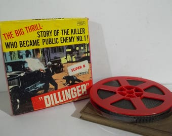 Dillinger Super 8 Movie - FREE SHIPPING!!!