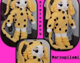 Tutorial crochet Lala loopsy (is tutorial includes explanations of the doll and clothes)