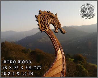 Viking Wood Carving Etsy