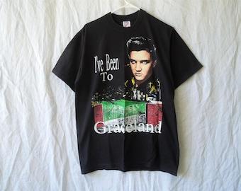 90s Elvis Presley Graceland T-Shirt