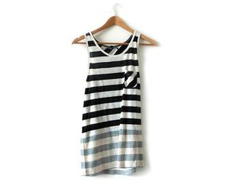 B Side stripe vest