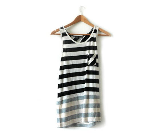 B Side stripe vest
