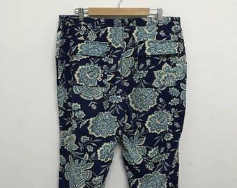 20% OFF Vintage Tommy Hilfiger Floral Pants/Tommy Hilfiger Women Pants/Tommy Hilfiger Hawaiian Pants