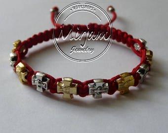 Faith Blessing Bracelet - Mixed Medals