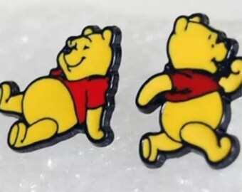 Adorable Kids Winnie The Pooh Stud Earrings