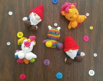 Micro Crochet Unicorn