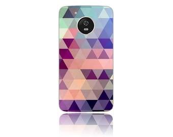 Motorola Moto G5 #Cotton Candy Design Hard Phone Case