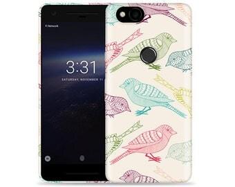 Google Pixel 2 Case - Pixel 2 Case #Flock of Colors Cool Design Hard Phone Cover