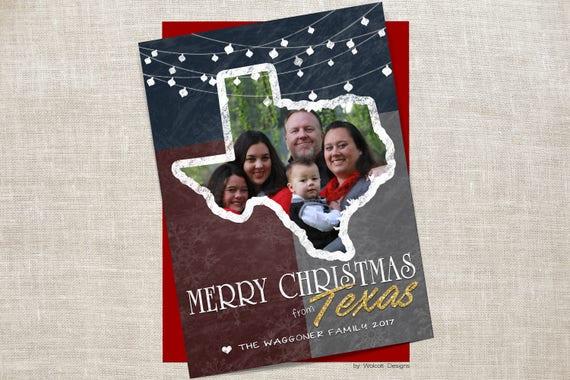 il_570xn - Texas Christmas Cards