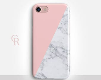 Marble iPhone SE Case For iPhone 8 iPhone 8 Plus - iPhone X - iPhone 7 Plus - iPhone 6 - iPhone 6S - iPhone SE - Samsung S8 - iPhone 5