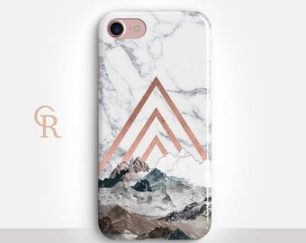 Mountains iPhone 8 Case For iPhone 8 iPhone 8 Plus - iPhone X - iPhone 7 Plus - iPhone 6 - iPhone 6S - iPhone SE - Samsung S8 - iPhone 5
