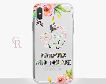 Disney Lion King Clear Phone Case Phone Case For iPhone 8 iPhone 8 Plus iPhone X Phone 7 Plus iPhone 6 iPhone 6S iPhone SE Samsung S8