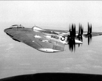 Poster, Many Sizes Available; Northrop Xb-35 Flying Wing, A Heavy Bomber Prototype (Check Other)
