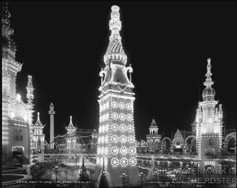 Poster, Many Sizes Available; Luna Park, Coney Island, N.Y. Picture Taken Ca. 1905