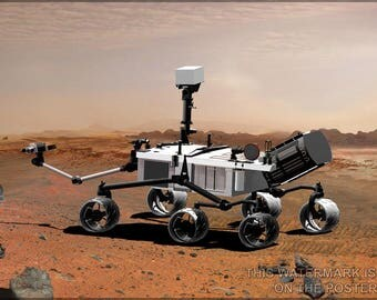 Poster, Many Sizes Available; Mars Science Laboratory Curiosity Rover