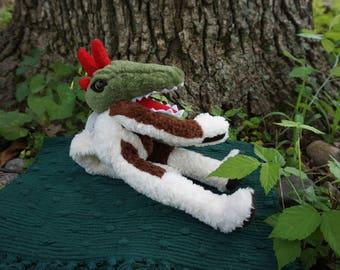 Grinwald. FrankenFuzzie, Soft Sculpture, Stuffed Animal, Toy, Grimer's brother