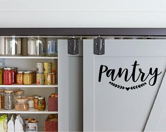 Pantry-Decal