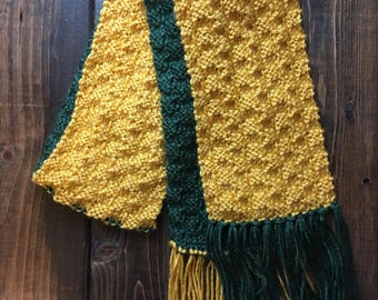 Child Green Bay Packer's Scarf