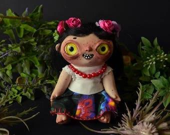 GODLING - Ghost Child Noonwraith Victim ART DOLL (Bogdana)