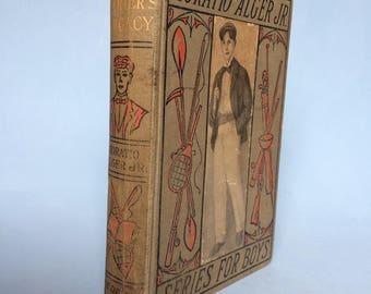Herbert Carter's Legacy by Horatio Alger Jr. Vintage Boy's Book