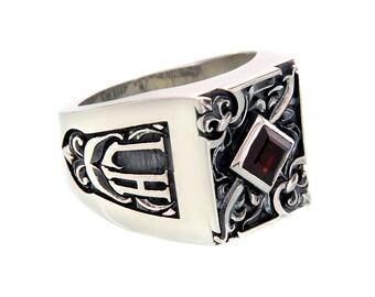 Silver ring Revelation