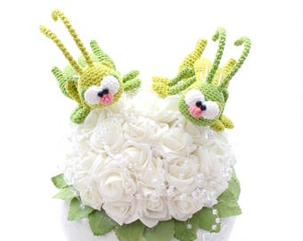 little grasshoppers - crochet pattern by mala designs ®