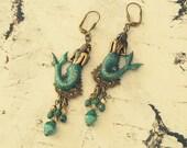 Mermaid Gifts For Women, Mermaid Jewellery, Statement Mermaid Earrings, Mermaid Accessories, Siren Jewels, Mermaid Gifts, Gifts Under 30