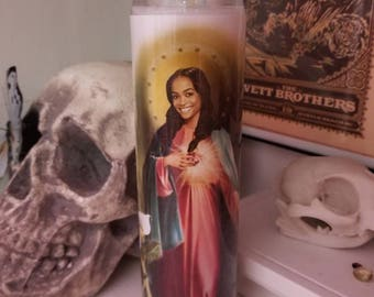 St Rachel Lindsay Bachelor Bachelorette Prayer Candle