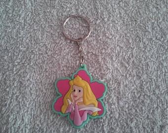 Keychain or handbag Aurora / sleeping beauty