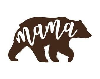 Mama Bear Decal No. 7