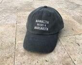 Margaritas Hat | Brunch Hat | Dad Hat for Women | Funny Drinking Hat | Mom Hat | Women's Hat | Classic Dad Hat | Summer Hat