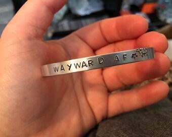 Wayward AF Cuff Bracelet