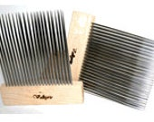 Double Row Extra Fine Wool Combs (Valkyrie)