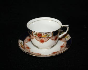 Colchough Tea Cup and Saucer