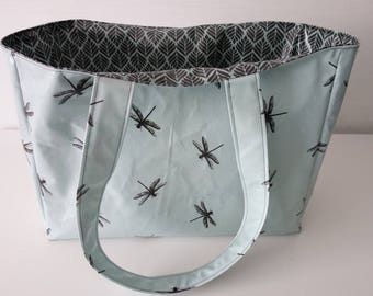 great beach bag shopper from AU Maison oilcloth