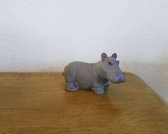 Ceramic Baby Hippopotamus (#1023)