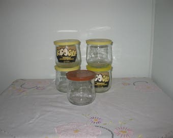 Koogle Peanut Spread Jars (Lot of 5)