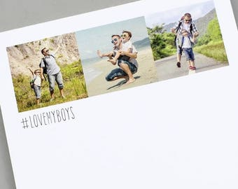 ON SALE Personalised Instagram Photo Notepad
