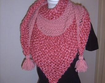 Gorgeous oversize shawl handmade