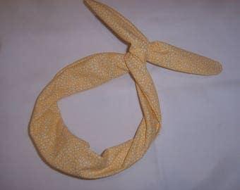 Adjustable with wire Turban headband