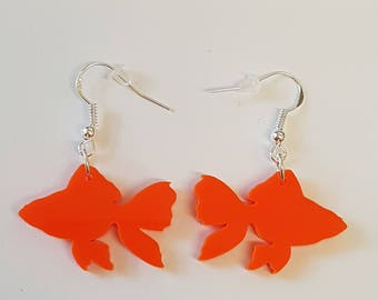 Little Fish Earrings - Acrylic