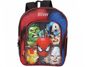 Personalized Marvel Avengers Backpack - 16 Inch